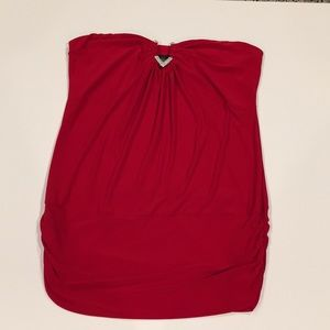 Sexy Red Torrid Strapless Top ❤️ EUC